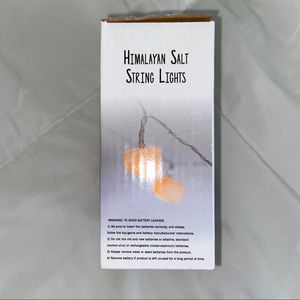 Cost Plus World Market Accents - Himalayan salt string lights